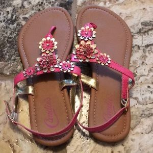 Ladies sandals pre owned